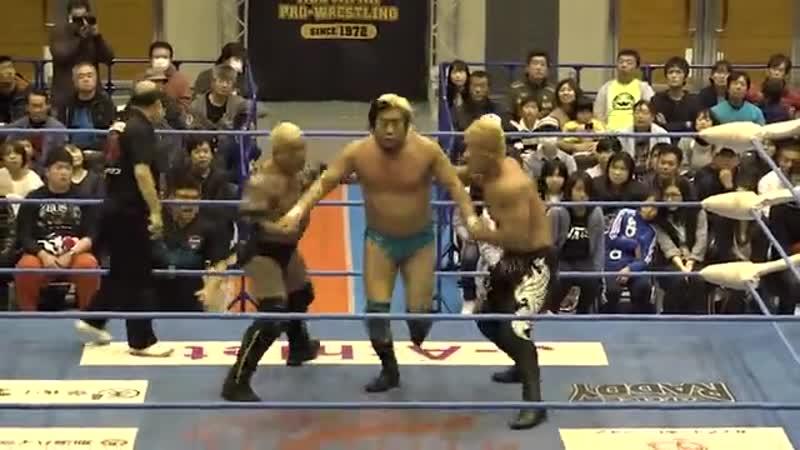 Shuji Ishikawa, Suwama vs. The Bodyguard, Zeus (20181201)