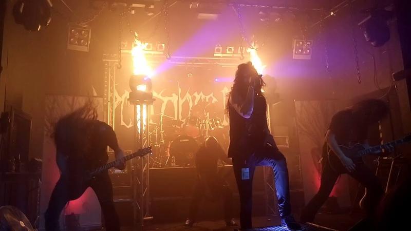 Decembre Noir - Ghost Dirge, Live in Erfurt 2018