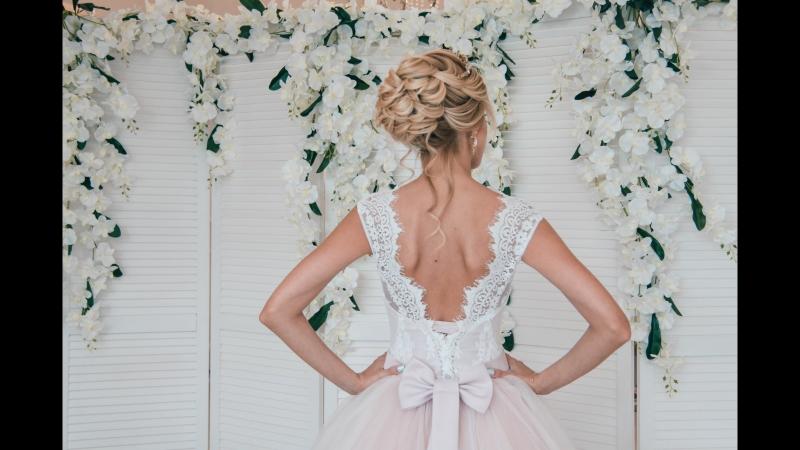 Свадебное платье цвета пудра - ХИТ