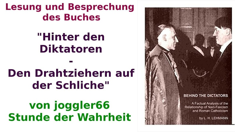 Hinter den Diktatoren (7) Die Jesuiten und die Protokolle der Weisen von Zion (5)