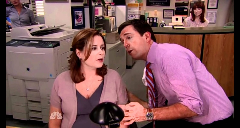 The Office - Closing time scene