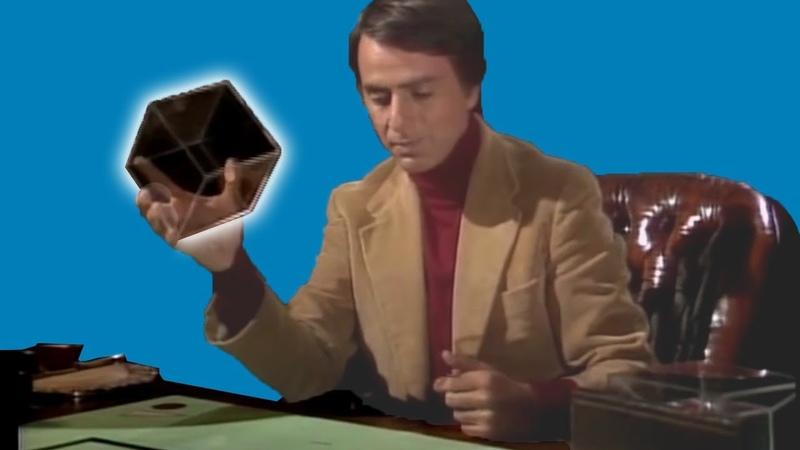 Quarta dimensão explicada por Carl Sagan