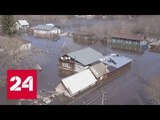 Паводок в Саратовской области: в Аткарске людей эвакуируют с крыш - Россия 24