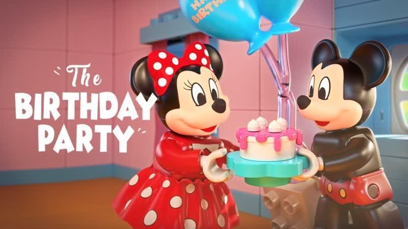 LEGO DUPLO Disney Mickey Minnie s Birthday Party! - (aneka.scriptscraft.com) 720p