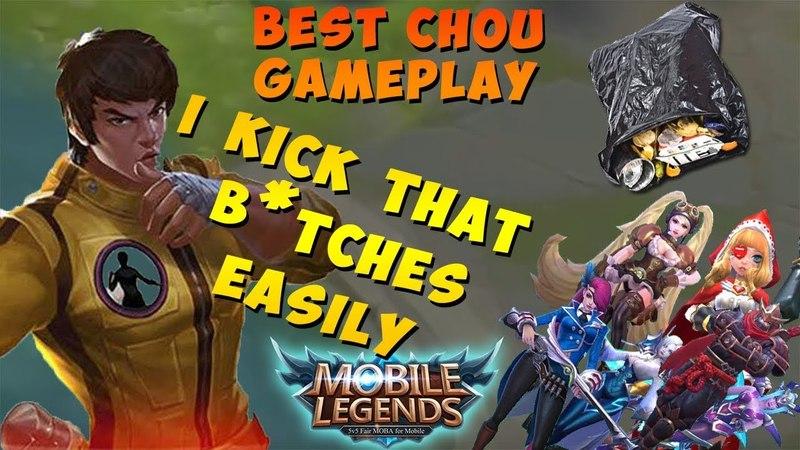Mobile Legends - best Chou gameplay I Montage I Highlights