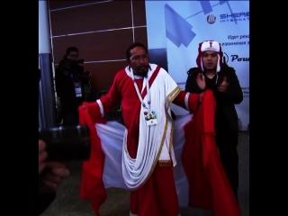 Сборная Перу прилетела в Россию