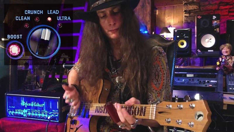SWAMP BLUES GUITAR - TONE TESTING | GrandMeister Deluxe 40 Guitar Amp by Hughes Kettner