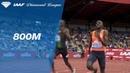 Emmanuel Korir 1 42 79 Wins Men's 800m IAAF Diamond League Birmingham 2018