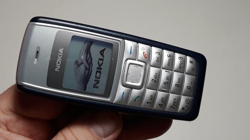 Nokia 1112 телефон из Германии состояние нового 15 часов наговорено