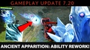 Dota 2 NEW 7.20 Patch - Ancient Apparition: Ability Rework