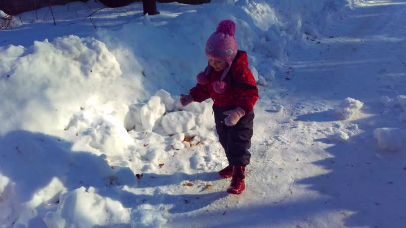 Чистим снег 2