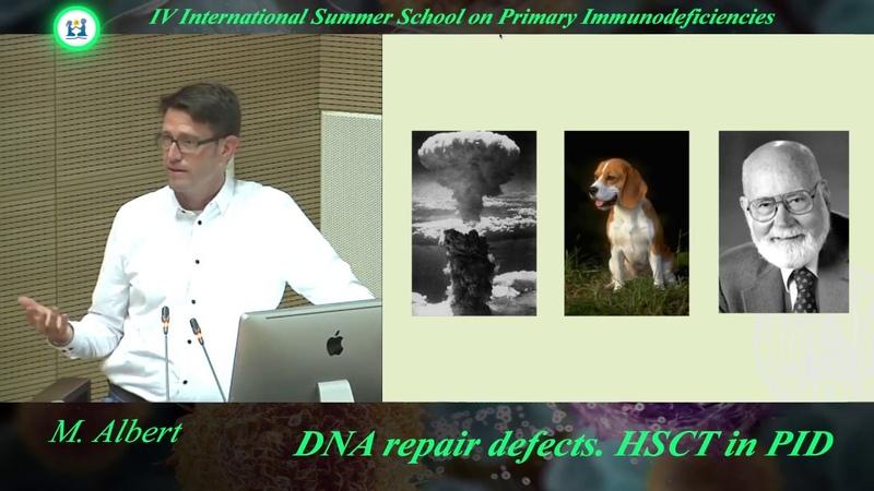 M.Albert - DNA repair defects. HSCT in PID.
