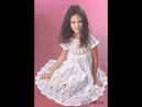 Платье Крючком для Девочки 6 лет - 2018 / Dress Crochet for Girl 6 years old / Gehäkelte Kleid