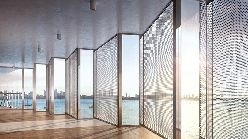 New images of Jean Nouvel's monad terrace as work gets underway in Miami beach