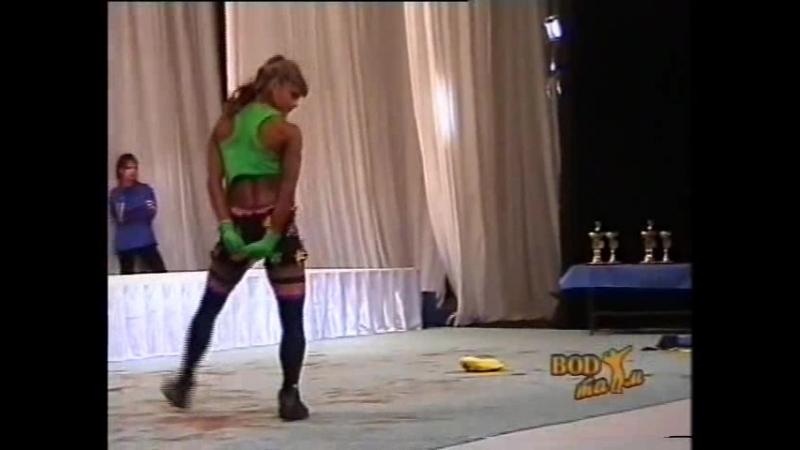 Мария Самкова 2003 Кубок России по бодибилдингу