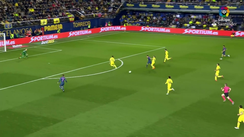 Villarreal CF vs Atlético de Madrid (2-1)