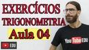 Problemas de Trigonometria no Triângulo Retângulo Minicurso Aula 04 Prof Rafa Jesus