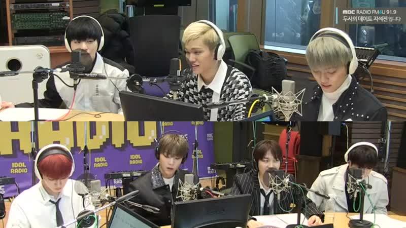 190220 • MBC Radio FM4U Ji Seokjin 2PM Date • ONF
