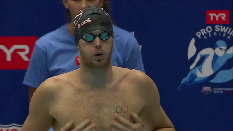 Men's 200m Free A Final _ 2018 TYR Pro Swim Series - Indy