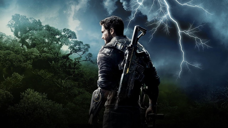Just Cause 4 Played by Square Enix President Yosuke Matsuda Part 1 PS4 Xbox One PC