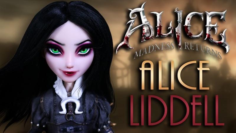 Custom Alice Liddell Doll [ STEAMPUNK COLLAB ]