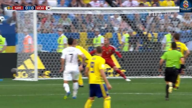 คลิปไฮไลท์ฟุตบอลโลก 2018 สวีเดน 1-0 เกาหลีใต้