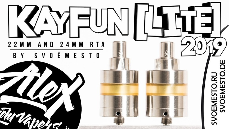 Kayfun [lite] 2019 l by SvoёMesto l Alex VapersMD review 🚭🔞