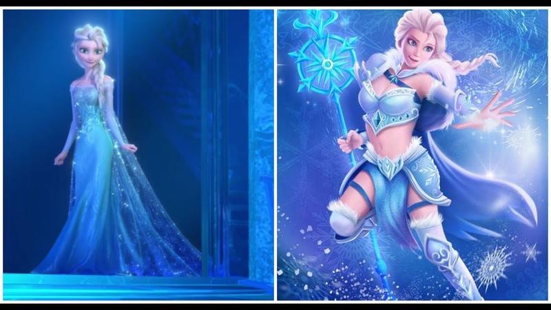 Disney Princesses As Superheroes Warriors