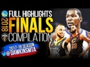 Golden State Warriors vs Cleveland Cavaliers 2018 COMPLETE Highlights | Games 1-4 | FreeDawkins
