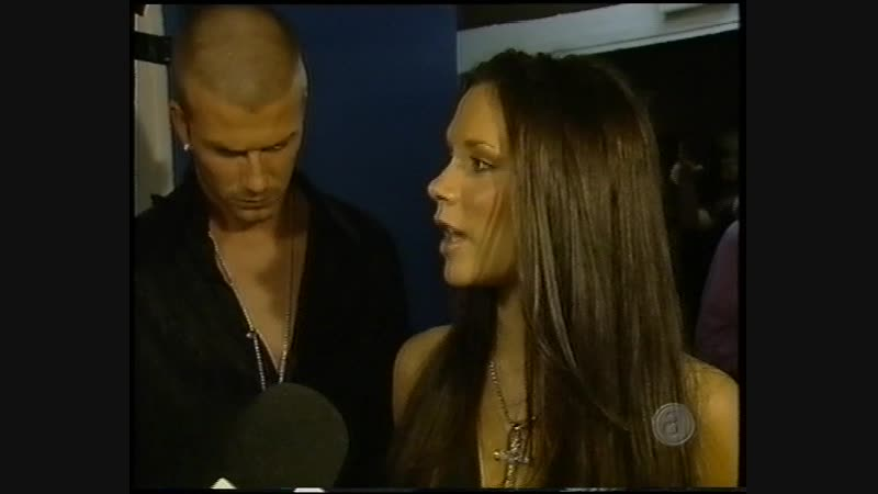 Victoria Beckham - NRJ Awards - Entertainment Now 20.01.2001