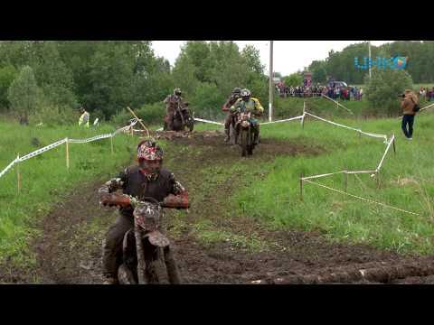 Эндуро экстрим. В Зарайске состоялись соревнования по мотокроссу.
