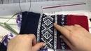 Как разрезать и сшить вязанное полотно, часть 1