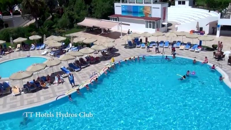 TT Hotels Hydros Club 4* Инспекция отеля Кемер Турция