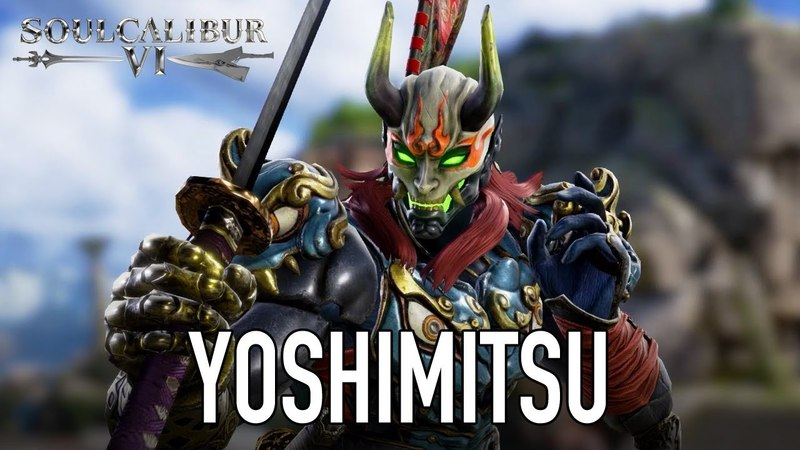 SOULCALIBUR VI - PS4/XB1/PC - Yoshimitsu (character announcement trailer)