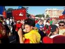 Ростов, спортивные крики иностранных болельщиков, июль, ЧМ-2018