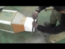 ВЫТЯЖКА для покраски в ОБЫЧНОМ гараже СВОИМИ РУКАМИ переносная DIY Из вентилятора от авто радиатора!.mp4
