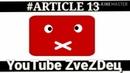 EC закроет YouTube Потеря ЮТУБа свободы СЛОВА оппозиции музыки и чужих статусов Artikel 13