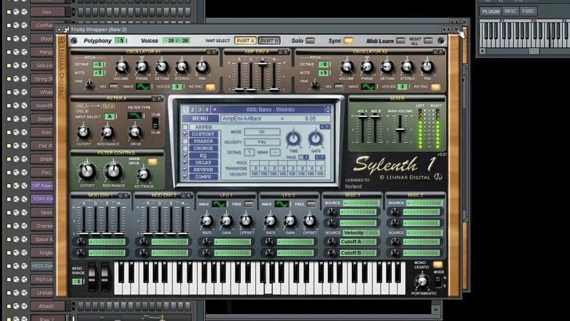 Norland Sylenth1 Soundbank Vol.1 (FLP and midi included)