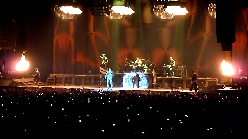 Rammstein - Intro Sonne (Live) Stuttgart (Schleyerhalle) 10.12.2011