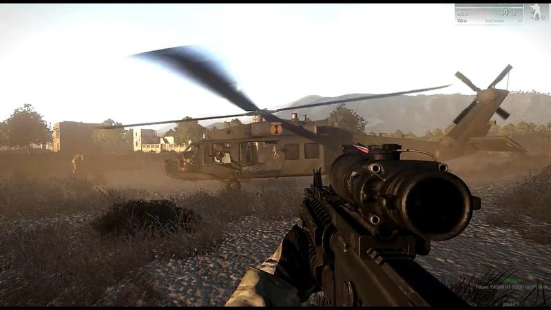 Десантно-штурмовой сквад [ArmA 3 Red Bear TvT]