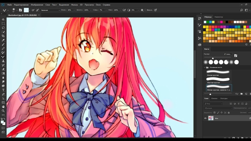 Redrawing old art (2012) | CLIP STUDIO Paint
