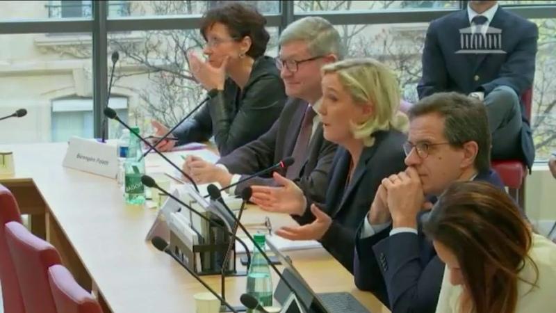 Marine Le Pen intervient en Commission des Affaires étrangères (28112018)