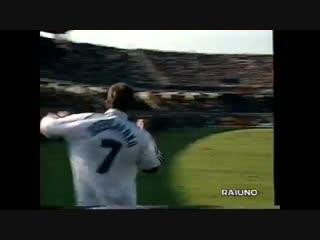 Андрей Шевченко - первый мяч за итальянский