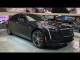 2019 Cadillac CT6 V-Sport 4.2TT Redline First Look 2018 NYIAS