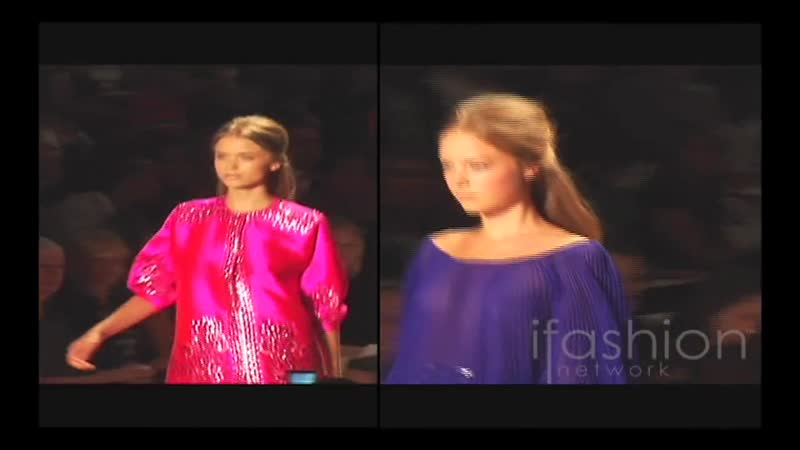 Reem Acra Spring 2009 Collection iFashion Network