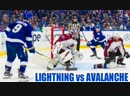 Dave Mishkin calls all 7 Lightning goals from dominant win over Avalanche