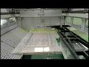 Canada 5axis door spraying painting machine, cabinet door painting machines