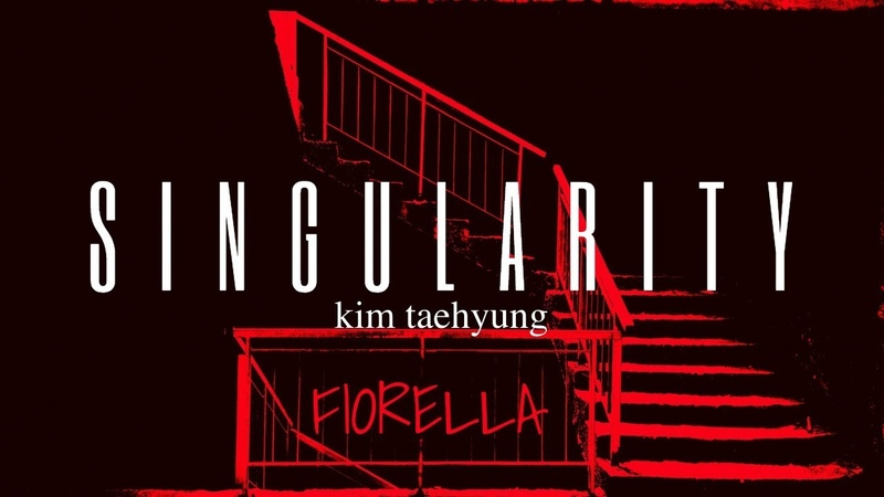 """How taehyung """"singularity"""" would sound like if you woke up hallucinating and hungover at night 