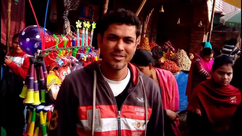 रतन गाजी बाबा की मेला RAKTAN GAZI BABA MAJAR FAIR 2018 NARENDRAPUR KAMALGAZI FLYOVER