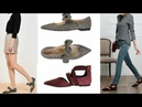 Tendencias Zapatos Cómodos Planos :Calzados Flats, Bailarinas Otoño Invierno Moda Mujer